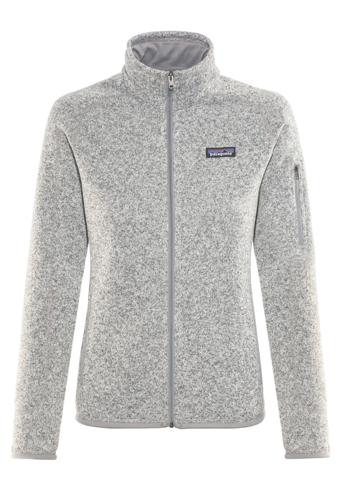 Patagonia Better Sweater Jacket Women Grey At Addnature Co Uk